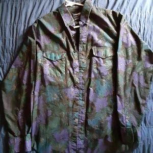 Wrangler Cowboy Button Up